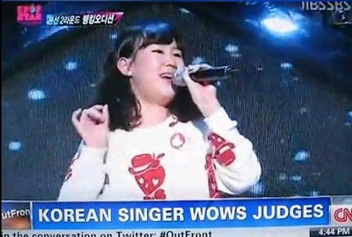 'K팝스타'박지민 가창력에 CNN 뉴스도 깜짝!