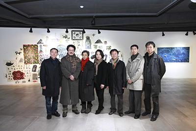해움미술관, 국토와 민중전시회 오프닝행사 열려