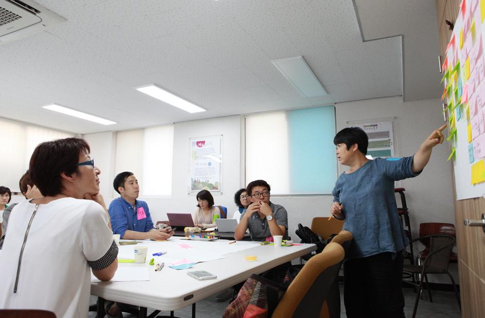 수원시 문화예술 '오늘과 제안' 예술인들의 토론