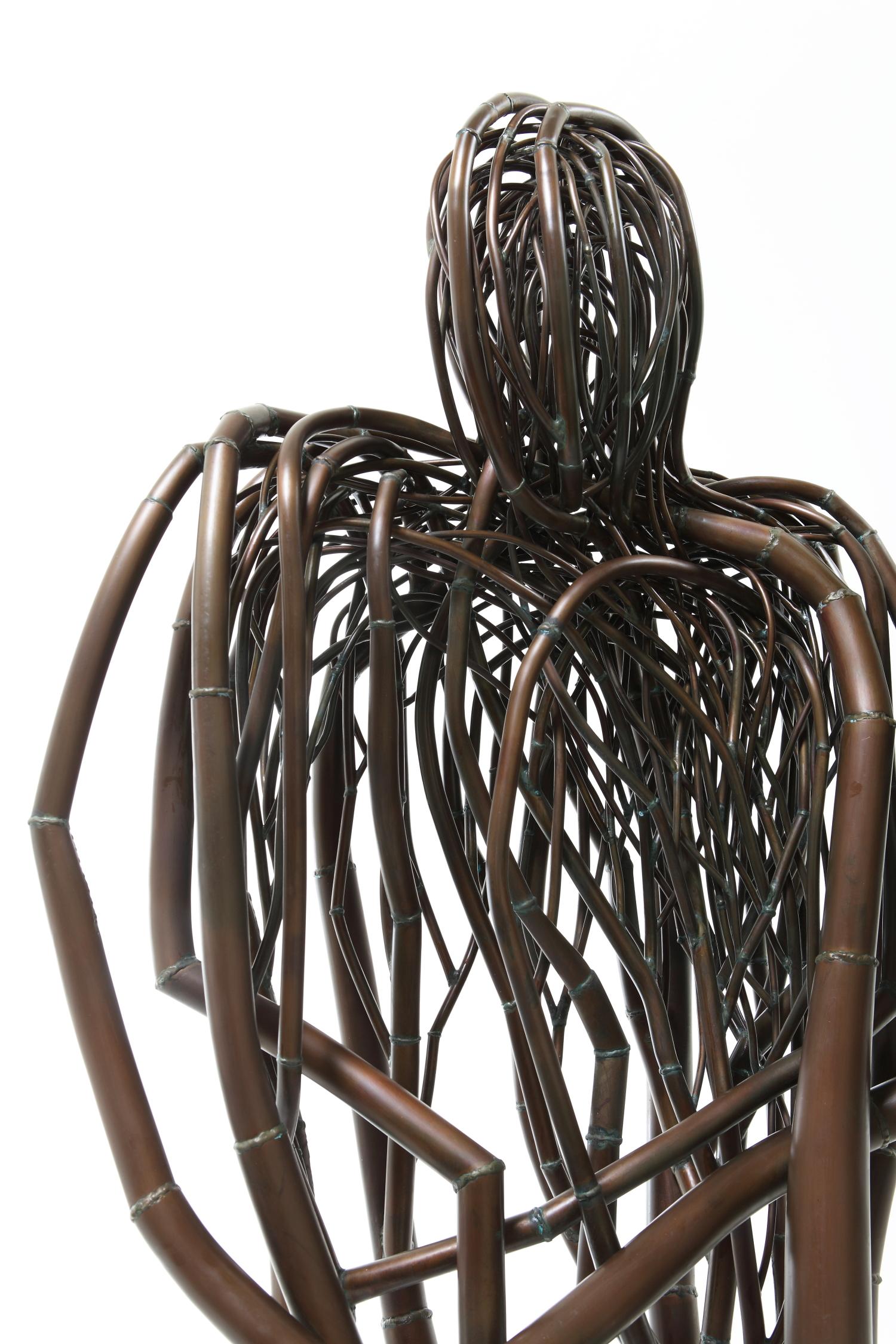 안재홍의 조각은 구리선에서 자라난다 - 해움미술관 기획전시 <선과 매체의 조응>